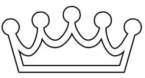 29 crown outline clip