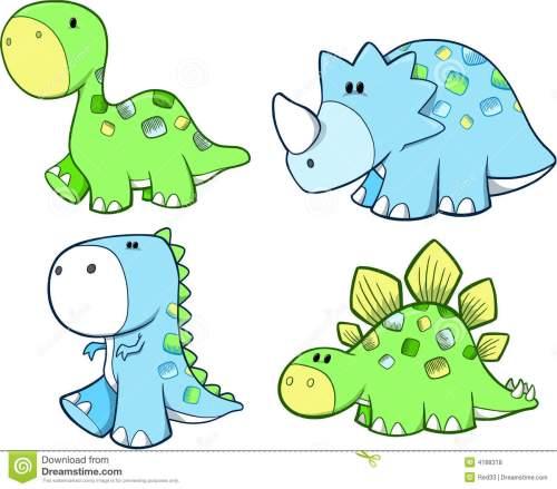 small resolution of cute dinosaur set royalty fre cute dinosaur clipart