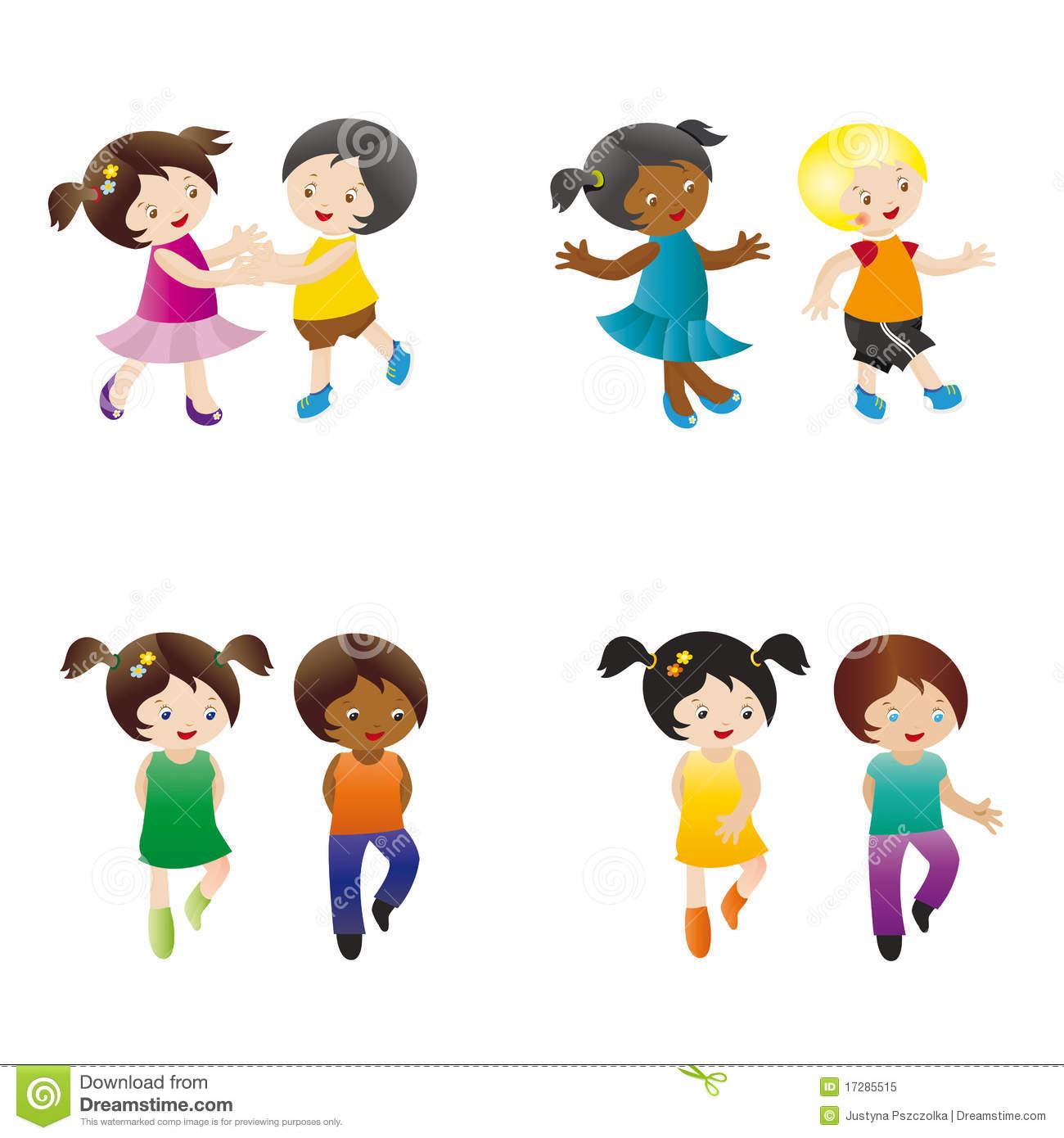hight resolution of dancing kids kids dancing clipart