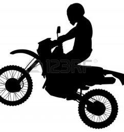 dirt bike clipart black and w dirt bike clipart [ 1200 x 1083 Pixel ]