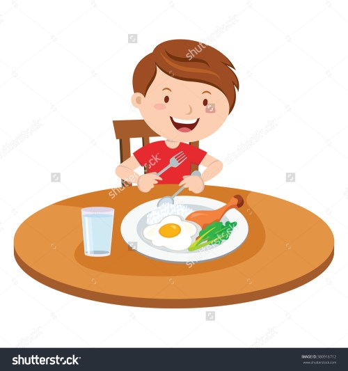 small resolution of eat breakfast clipart boy sa eating breakfast clipart
