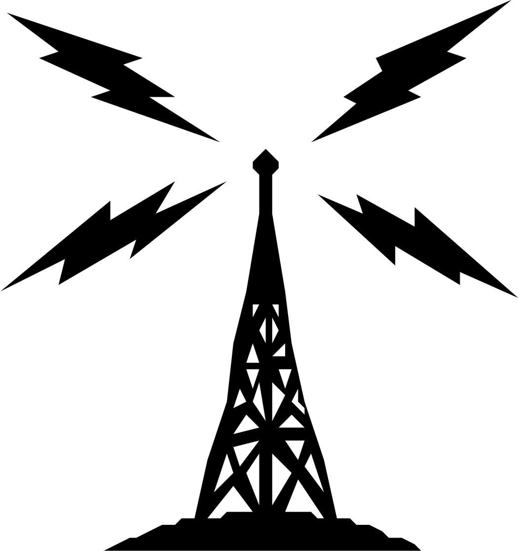Radio Tower Clip Art Amp Look At Clip Art Images