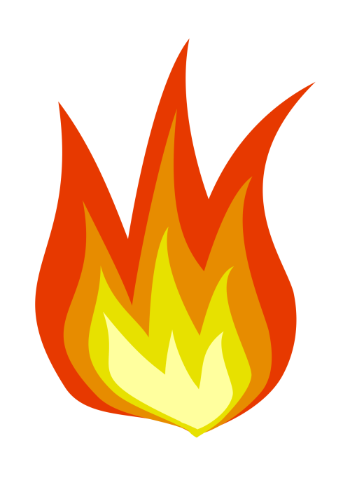 small resolution of clipart fire