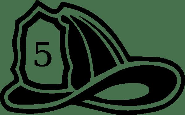 60 fire helmet clip