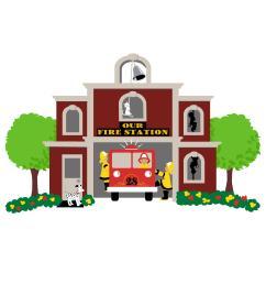 fire station clipart best fire station clip art [ 3333 x 3333 Pixel ]