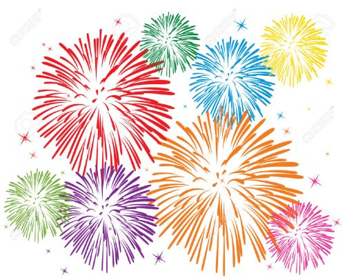 small resolution of fireworks clipart 6726