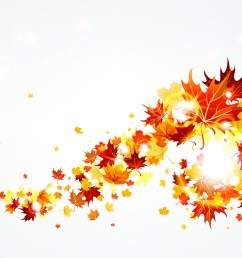 flying autumn leaves falling leaves clipart [ 1024 x 768 Pixel ]