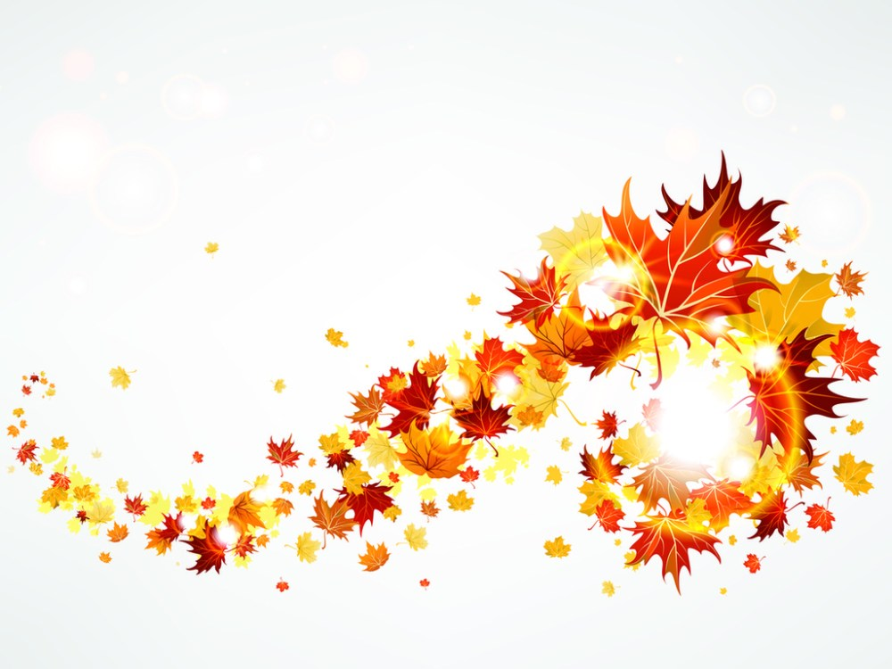 medium resolution of flying autumn leaves falling leaves clipart