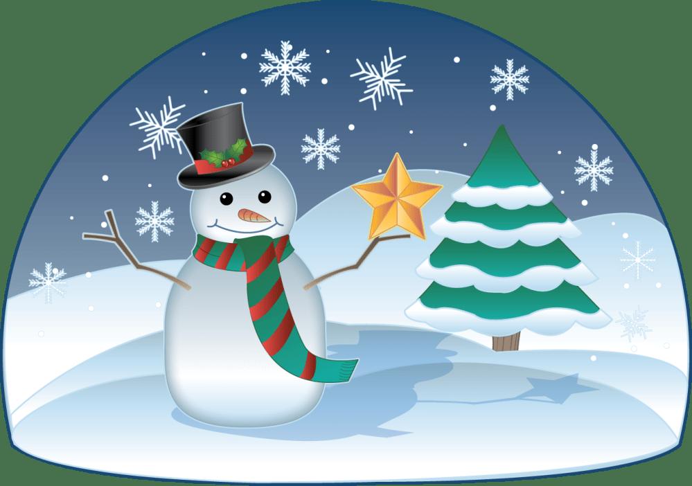 medium resolution of free clip art holiday clip art christmas snowman in winter