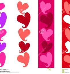 free clipart n images free simple valentine heart borders  [ 1300 x 1101 Pixel ]