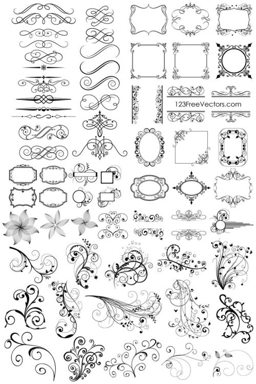 small resolution of free download 65 floral decor free downloadable clipart