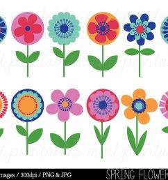free flower clip art u0026 fl clip art free flowers [ 1000 x 800 Pixel ]