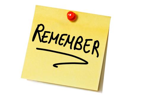 friendly reminder clip art