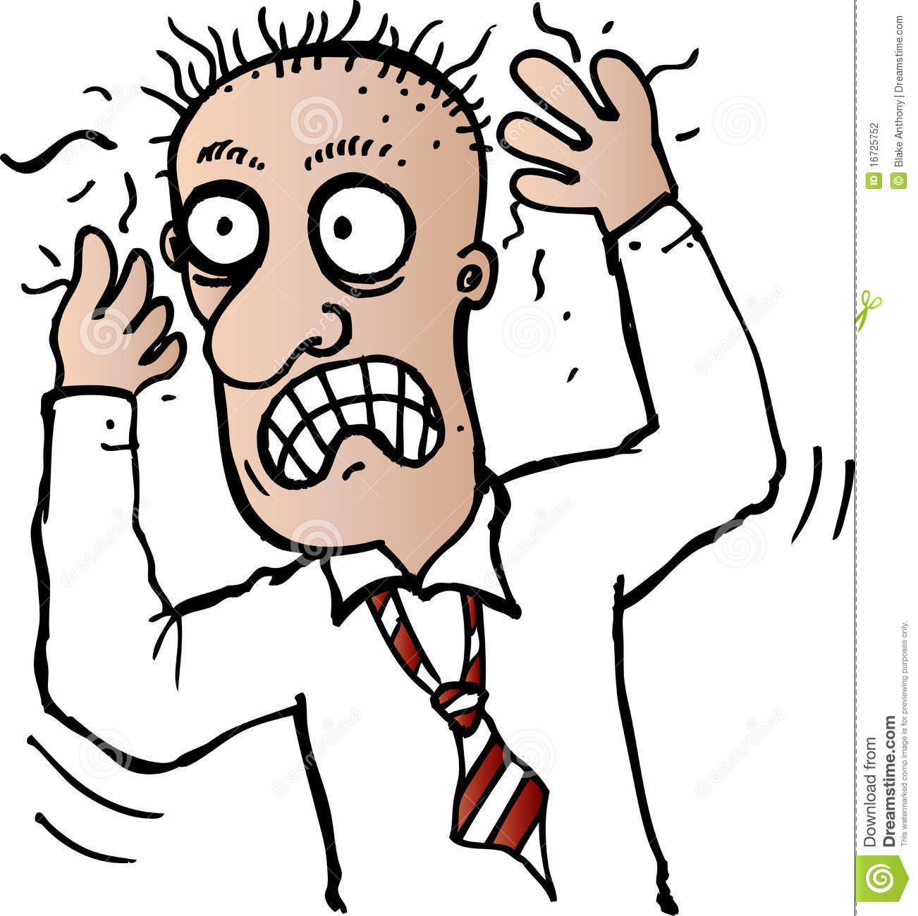 hight resolution of stressed out clipart