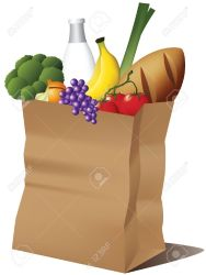bag grocery paper groceries vector clipart food clip illustration graphicriver packaging broccoli depositphotos clipartlook graphics dreamstime illustrations vectors