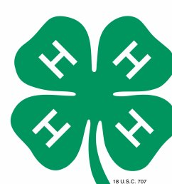 4 h logo clip art [ 2600 x 2618 Pixel ]