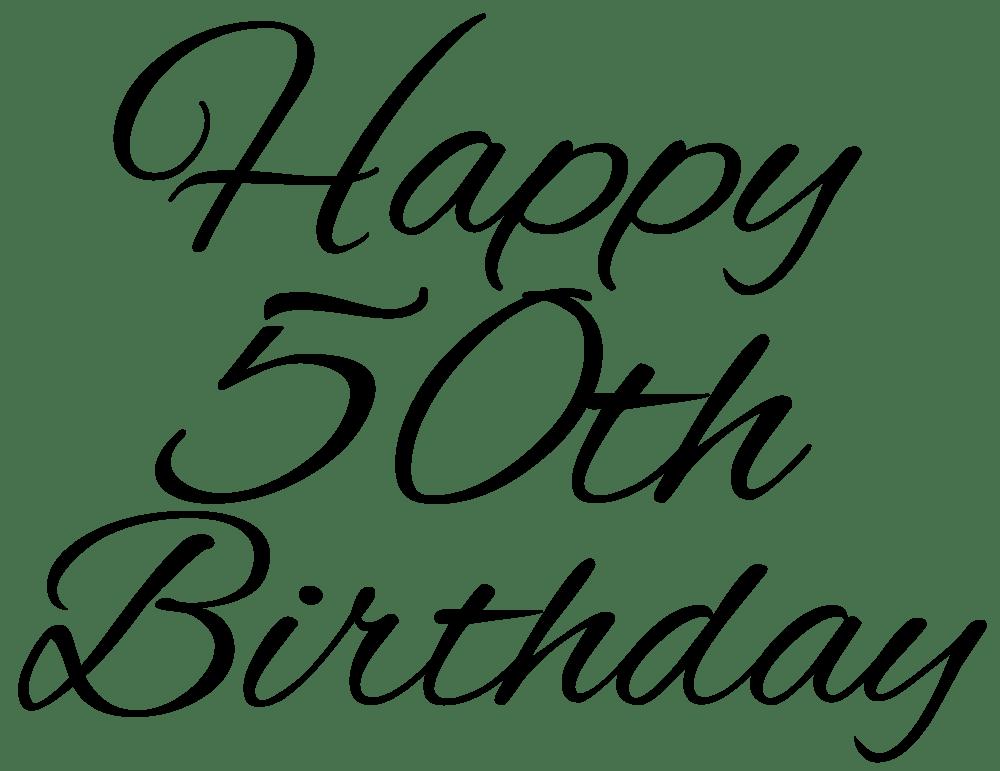 49 free 50th birthday