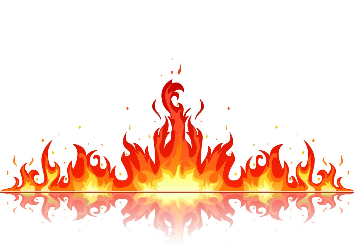hight resolution of fire clipart free