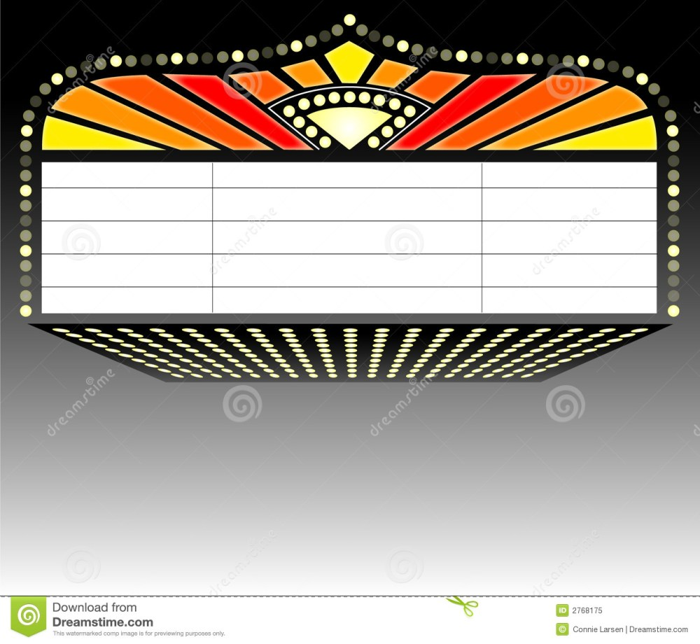 medium resolution of illustration of a theater mar movie marquee clipart