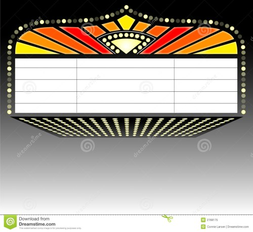 small resolution of illustration of a theater mar movie marquee clipart