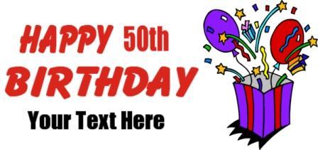 54 free 50th birthday