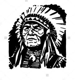 indian chief retro clipart indian chief clipart [ 1200 x 1600 Pixel ]