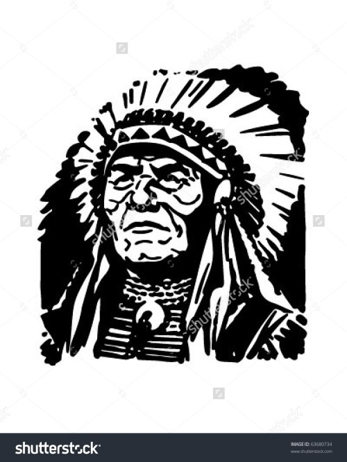 small resolution of indian chief retro clipart indian chief clipart