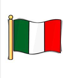 italian flag images clip italian flag clipart [ 1275 x 1650 Pixel ]