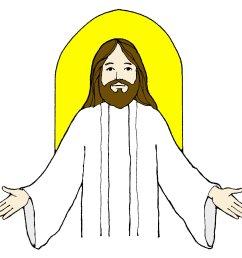 jesus clip art [ 1388 x 1360 Pixel ]