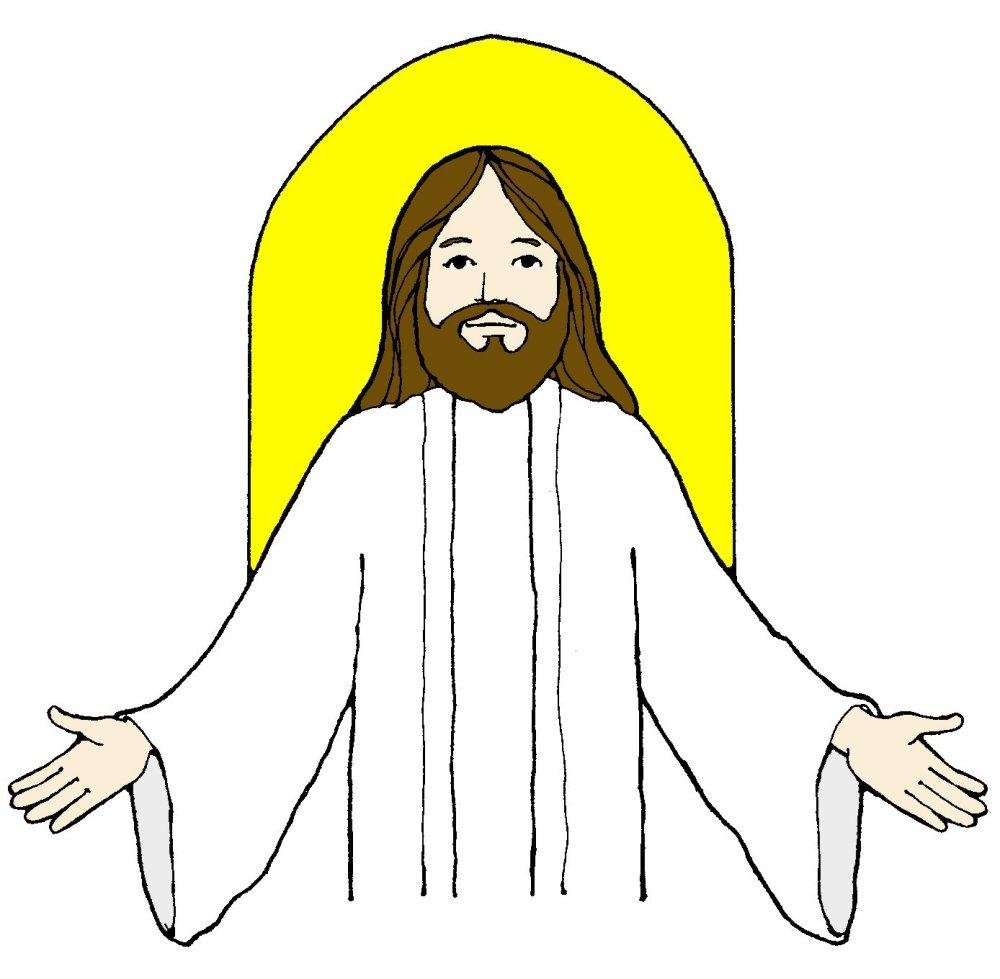medium resolution of jesus clip art