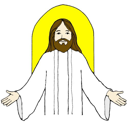 small resolution of jesus clip art