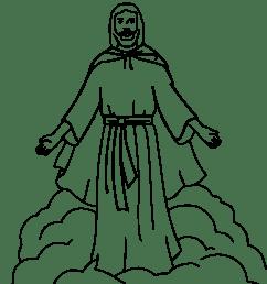 jesus coloring book [ 2153 x 2400 Pixel ]