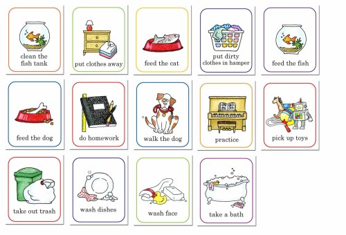 small resolution of chore chart clip art