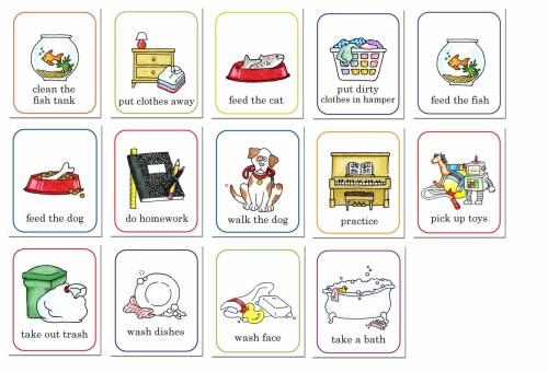 small resolution of chore chart clip art