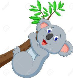 koala bear cute koala cartoo koala bear clipart [ 1223 x 1300 Pixel ]