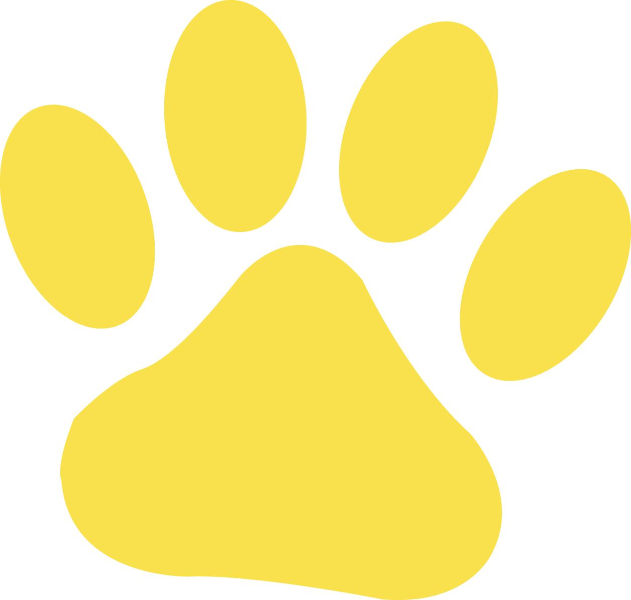 55 lion paw print