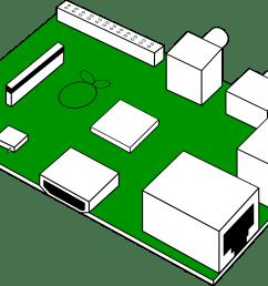looks like raspberry pi print circuit board clipart [ 2386 x 1629 Pixel ]
