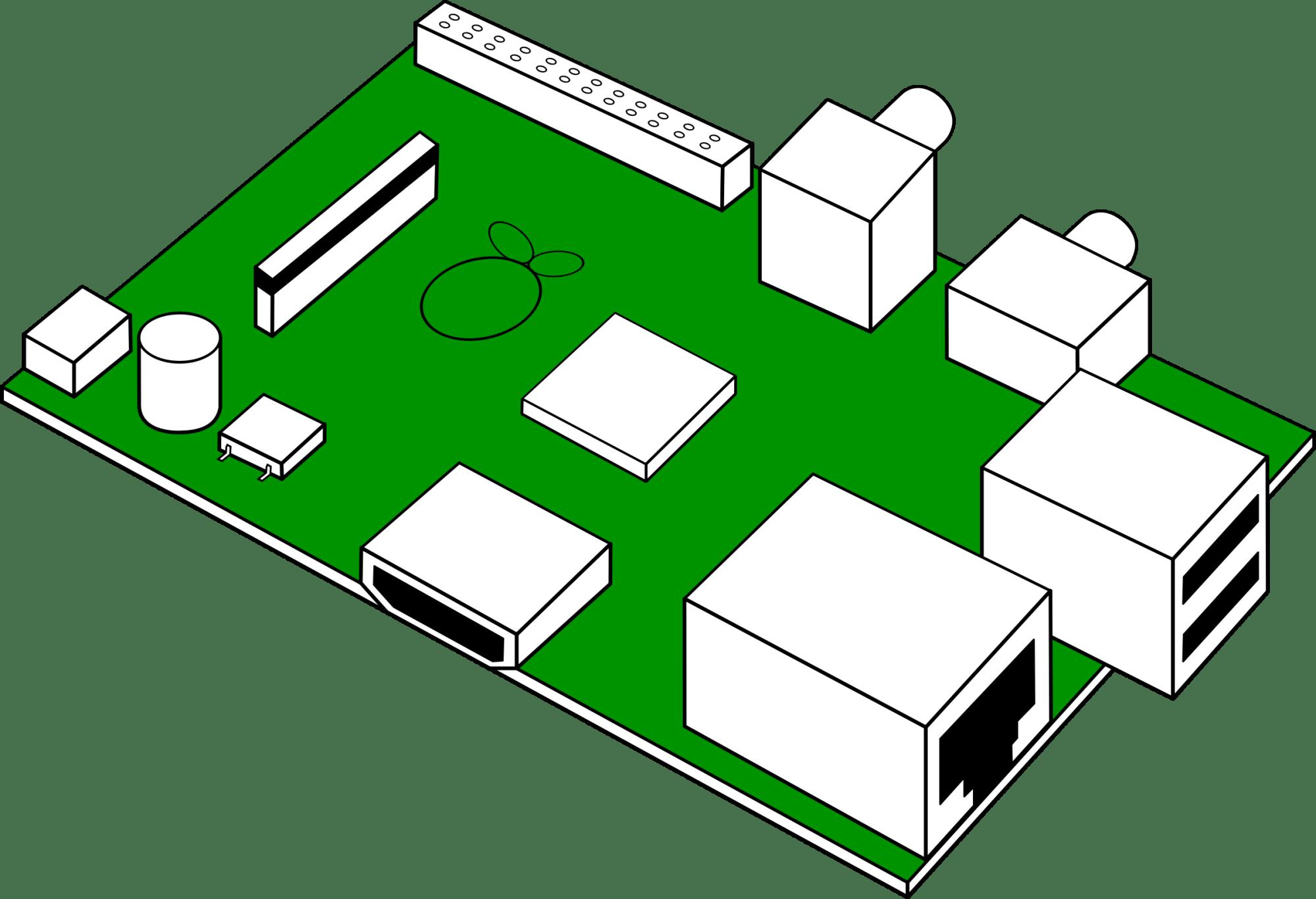 hight resolution of looks like raspberry pi print circuit board clipart