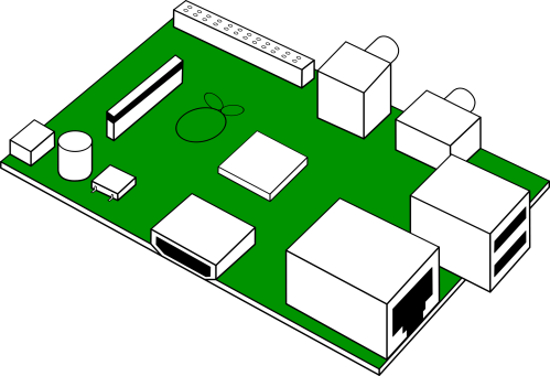 small resolution of looks like raspberry pi print circuit board clipart