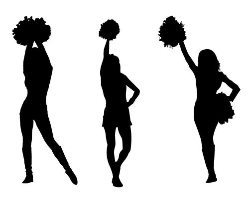 small resolution of loudspeaker cheer championshi free cheerleader clipart