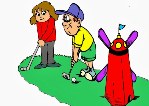 small resolution of clipart mini golf clipart 6