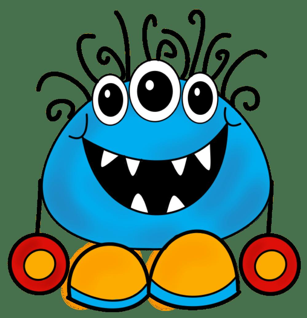 medium resolution of monster clip art cartoon free free monster clipart