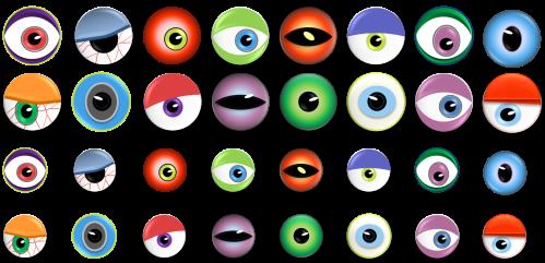 small resolution of monster eye ball clip art