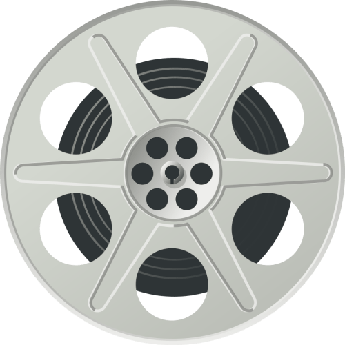 small resolution of movie reel svg vector file ve film reel clipart