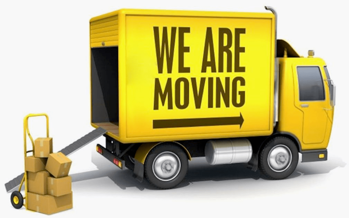 hight resolution of moving truck clipart