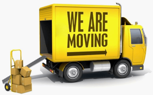 small resolution of moving truck clipart