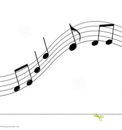 music clipart black and white  [ 1300 x 728 Pixel ]