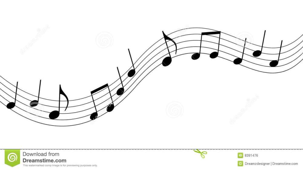 medium resolution of music clipart black and white