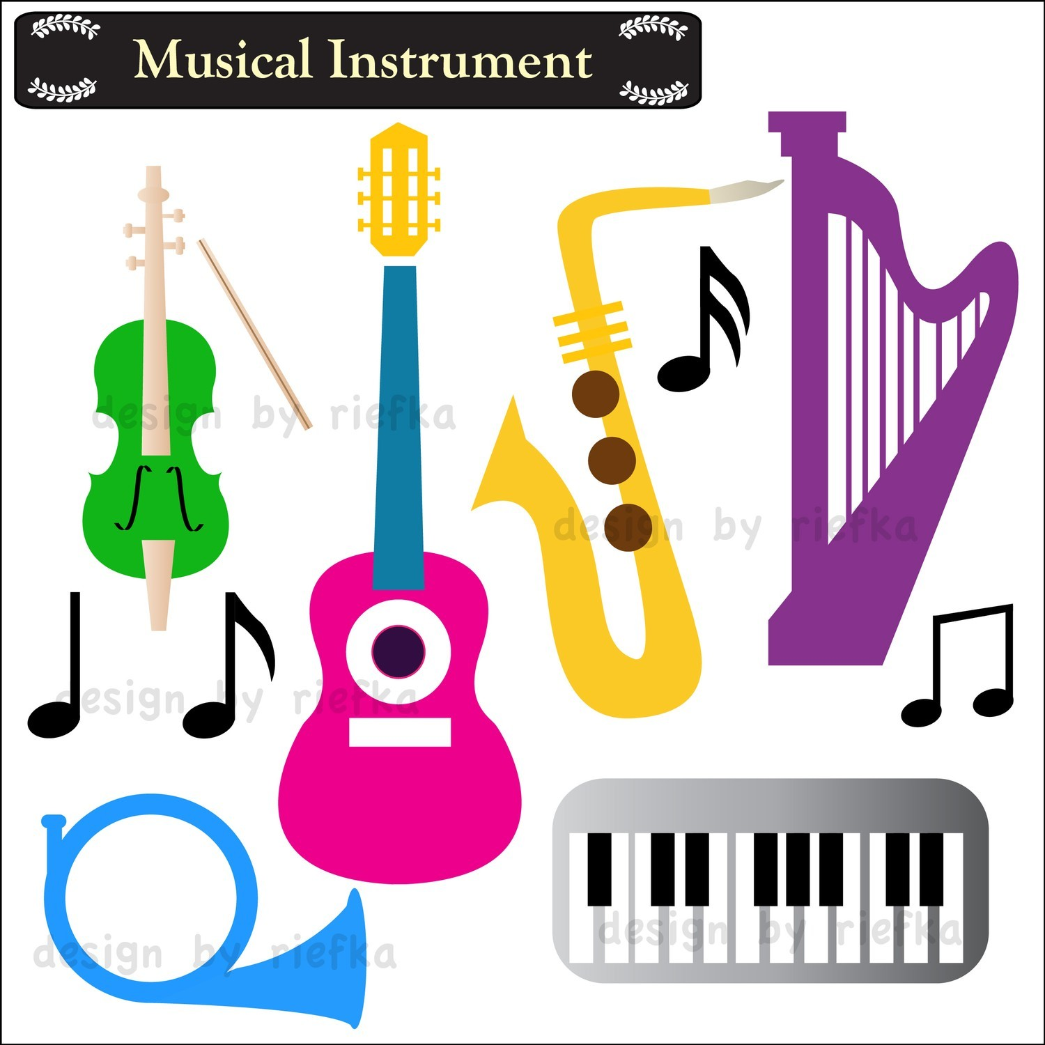 hight resolution of musical clip art musical instruments clipart