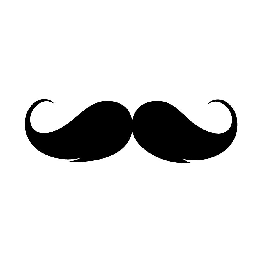 hight resolution of design mustache and glasses mustache clipart